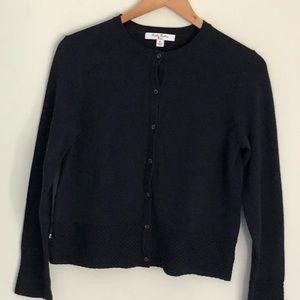 Never worn Brooks Brothers girls navy cardigan XL